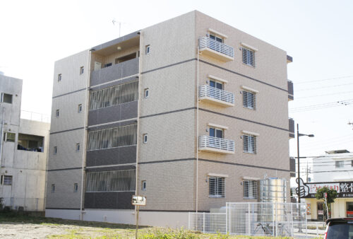 大鏡建設 アパート・マンション建築 施工実績 201904 宜野湾市真志喜M様共同住宅