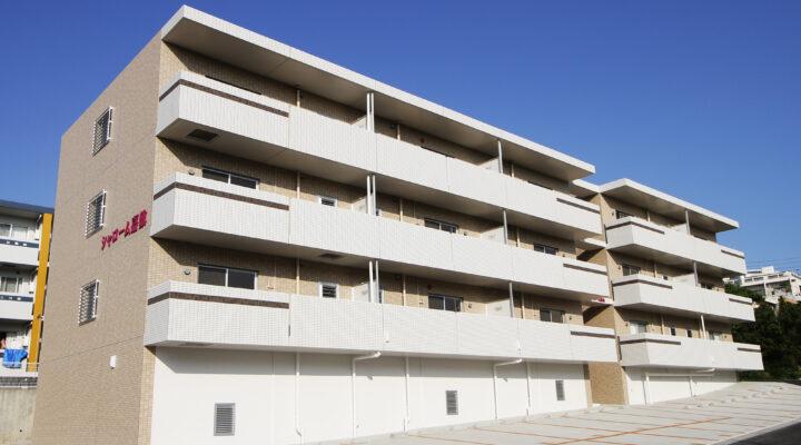 厳しい条件をひとつひとつクリアし完成!緑に囲まれ、ゆったり暮らせるファミリー向けアパートに。
