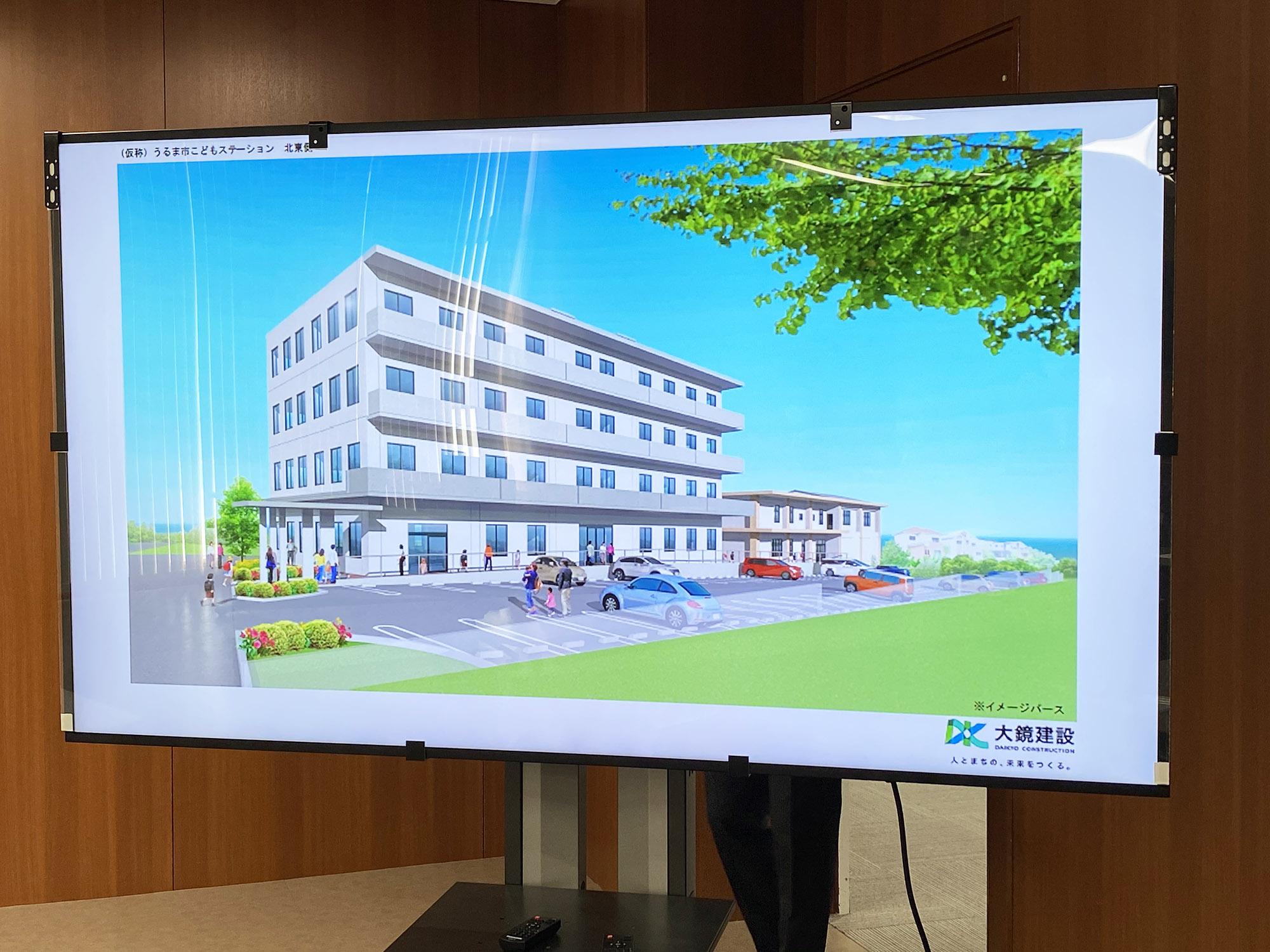 『うるま市こどもステーション(仮称)』の 施設整備・運営事業 基本協定書 締結式
